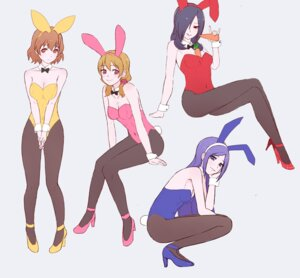Rating: Safe Score: 26 Tags: animal_ears aono_miki bunny_ears bunny_girl fresh_pretty_cure! higashi_setsuna momozono_love pantyhose pretty_cure tail unpale yamabuki_inori User: Radioactive