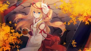 Rating: Safe Score: 50 Tags: aizawa_hikaru halloween microsoft miko shinia wallpaper User: fairyren