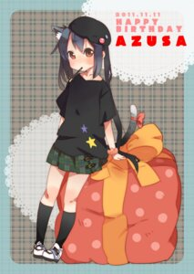 Rating: Safe Score: 19 Tags: animal_ears futomayu k-on! nakano_azusa nekomimi tail User: SciFi