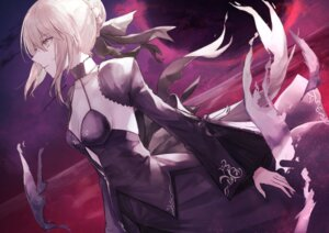 Rating: Safe Score: 11 Tags: cleavage dress fate/grand_order saber saber_alter thkani User: Mr_GT