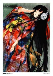 Rating: Safe Score: 67 Tags: headphones kimono refeia User: Aurelia