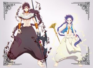 Rating: Safe Score: 10 Tags: aladdin coro96 feet judal magi_the_labyrinth_of_magic male User: charunetra