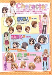 Rating: Safe Score: 10 Tags: azuki_azusa character_design hentai_ouji_to_warawanai_neko seifuku thighhighs tsutsukakushi_tsukiko yokodera_youto User: Hatsukoi
