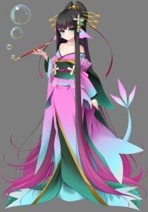 Rating: Questionable Score: 11 Tags: ayakashi_yuukaku_~oiran_amabie_mintanshuu~ casket hisui_(ayakashi_yuukaku) kimono loli monster_girl no_bra open_shirt tail yu-ta User: sorafans