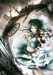 Rating: Safe Score: 9 Tags: hakurei_reimu helrouis touhou User: hobbito