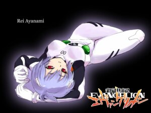 Rating: Questionable Score: 15 Tags: ayanami_rei bodysuit neon_genesis_evangelion tessai wallpaper User: minakomel