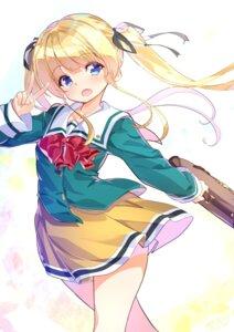 Rating: Safe Score: 43 Tags: fujishimasei_1_gou saenai_heroine_no_sodatekata sawamura_spencer_eriri seifuku User: fairyren