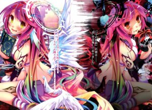 Rating: Safe Score: 60 Tags: jibril_(no_game_no_life) kamiya_yuu no_game_no_life tattoo wings User: animefan01
