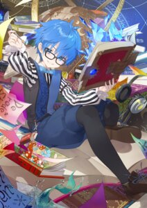 Rating: Safe Score: 13 Tags: caster_(fate/extra_ccc) fate/grand_order male megane pantyhose tonito User: Mr_GT