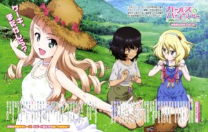 Rating: Safe Score: 13 Tags: andou_rena dress girls_und_panzer marie_(girls_und_panzer) oshida_ruka summer_dress wang_guo_nian User: drop