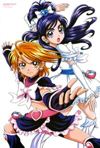 Rating: Questionable Score: 10 Tags: bike_shorts dress futari_wa_pretty_cure inagami_akira pretty_cure User: drop