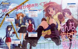 Rating: Safe Score: 15 Tags: ikeda_kazumi kanon kawasumi_mai minase_nayuki misaka_shiori sawatari_makoto seifuku tsukimiya_ayu User: vita
