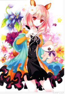 Rating: Questionable Score: 16 Tags: animal_ears dress tagme tail User: Radioactive