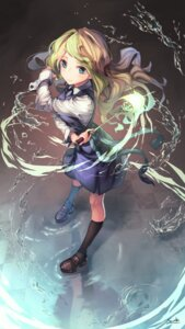 Rating: Safe Score: 27 Tags: diana_cavendish little_witch_academia saraki seifuku weapon User: Mr_GT