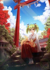 Rating: Safe Score: 38 Tags: crossover flareon gj_bu kannazuki_tamaki miko pokemon sunimu User: Mr_GT
