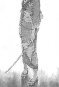 Rating: Safe Score: 5 Tags: blade_of_the_immortal kimono monochrome samura_hiroaki User: Umbigo