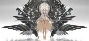 Rating: Questionable Score: 48 Tags: ajahweea mecha_musume no_bra underboob wings User: Radioactive
