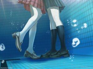 Rating: Safe Score: 25 Tags: hmax seifuku shibuya_rin shimamura_uzuki skirt_lift the_idolm@ster the_idolm@ster_cinderella_girls wet yuri User: Mr_GT