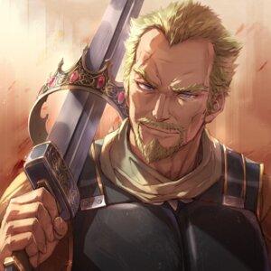 Rating: Safe Score: 11 Tags: armor askeladd_(vinland_saga) male michairu. sword vinland_saga User: mash