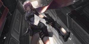 Rating: Safe Score: 62 Tags: final_fantasy final_fantasy_xiii gun kishiyo lightning User: LolitaJoy