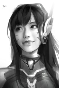 Rating: Safe Score: 21 Tags: bodysuit d.va headphones monochrome overwatch User: Dalan