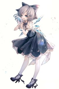 Rating: Safe Score: 39 Tags: cirno dress heels hito_komoru touhou wings User: Mr_GT