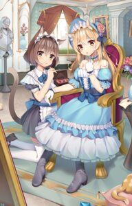Rating: Safe Score: 25 Tags: animal_ears breast_hold can_ge_dao dress heels maid nekomimi tail thighhighs User: sym455