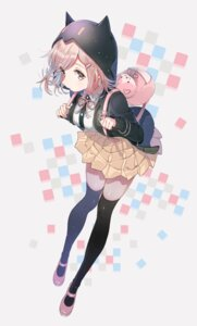 Rating: Safe Score: 47 Tags: dangan-ronpa dangan-ronpa_2 nanami_chiaki shirakino sweater thighhighs User: hamasen205