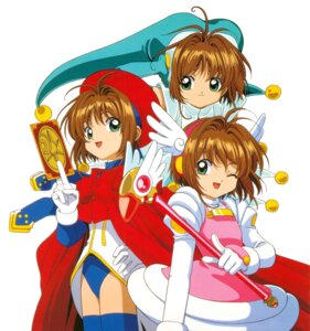 Rating: Safe Score: 6 Tags: card_captor_sakura dress kinomoto_sakura leotard madhouse tagme thighhighs weapon wings User: Omgix