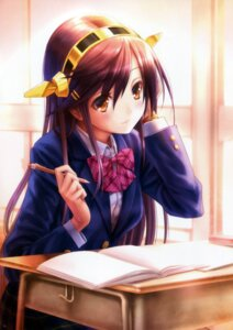 Rating: Safe Score: 83 Tags: goto-p haruna_(kancolle) kantai_collection seifuku User: Mr_GT