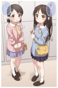 Rating: Safe Score: 30 Tags: sasaki_chie seifuku tachibana_arisu the_idolm@ster the_idolm@ster_cinderella_girls yukie_(kusaka_shi) User: leotard