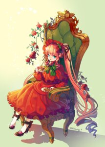 Rating: Safe Score: 20 Tags: dress heels lolita_fashion mulalang rozen_maiden shinku User: Mr_GT