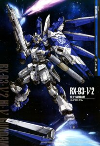 Rating: Safe Score: 15 Tags: char's_counterattack gun gundam hi-ν_gundam mecha rx_93_ν2 teraoka_iwao weapon User: drop
