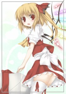 Rating: Safe Score: 11 Tags: flandre_scarlet kagura_yuu thighhighs touhou User: hobbito