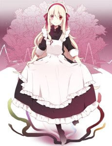 Rating: Safe Score: 37 Tags: kagerou_project kozakura_mary maid manio User: 23yAyuMe