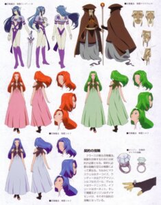 Rating: Safe Score: 5 Tags: armor character_design dress fujishima_kousuke maxwell silph sword tales_of tales_of_phantasia underboob undine_(tales_of_phantasia) User: kaitoucoon