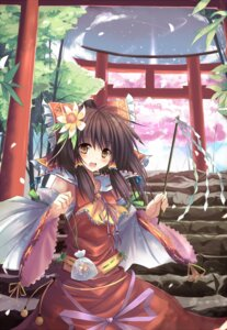 Rating: Safe Score: 37 Tags: dreamlight2000 hakurei_reimu touhou User: fairyren