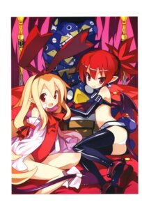 Rating: Safe Score: 39 Tags: disgaea etna flonne overfiltered pantsu pointy_ears prinny tail thighhighs wings yamamoto_keiji User: 椎名深夏