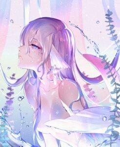 Rating: Questionable Score: 28 Tags: mermaid monster_girl rimsuk tail topless wet User: Mr_GT