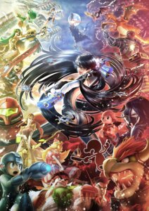 Rating: Safe Score: 30 Tags: armor ass bayonetta_(character) bodysuit bowser charizard crossover dress funahashi_eiji ganondorf gun little_mac lucina_(fire_emblem) mecha megane meta_knight monster mr._game_&_watch nintendo no_bra nopan palutena pit princess_peach_toadstool princess_zelda r.o.b. rockman_(character) ryuu samus_aran shulk silhouette super_smash_bros. sword villager weapon wings yoshi User: blooregardo