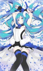 Rating: Safe Score: 31 Tags: fhang hatsune_miku thighhighs vocaloid User: nphuongsun93