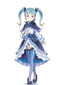 Rating: Questionable Score: 28 Tags: dress engage_princess heels kanzaki_hiro pantsu stockings thighhighs User: saemonnokami