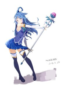 Rating: Safe Score: 34 Tags: aqua_(kono_subarashii_sekai_ni_shukufuku_wo!) heels kono_subarashii_sekai_ni_shukufuku_wo! tagme thighhighs weapon User: Spidey