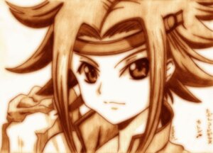 Rating: Safe Score: 7 Tags: code_geass godees kallen_stadtfeld monochrome User: charunetra