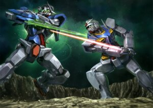 Rating: Safe Score: 14 Tags: 0_gundam gundam gundam_00 gundam_exia mecha User: drop