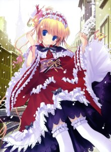 Rating: Safe Score: 63 Tags: lolita_fashion nimura_yuuji thighhighs wa_lolita User: syaoran-kun