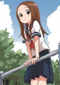Rating: Safe Score: 28 Tags: karakai_jouzu_no_takagi-san seifuku takagi-san yamamoto_souichirou User: Spidey