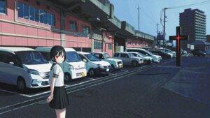 Rating: Safe Score: 15 Tags: 05tai_mono landscape seifuku User: saemonnokami