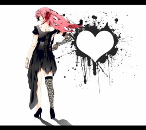 Rating: Safe Score: 16 Tags: dress hatsuko megurine_luka thighhighs vocaloid User: charunetra
