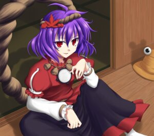 Rating: Safe Score: 3 Tags: blue_pony touhou yasaka_kanako User: Radioactive